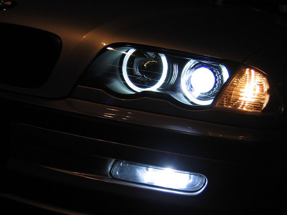 Angel Eyes Headlights